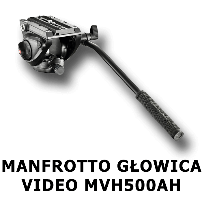 MANFROTTO-GŁOWICA-VIDEO-MVH500AH